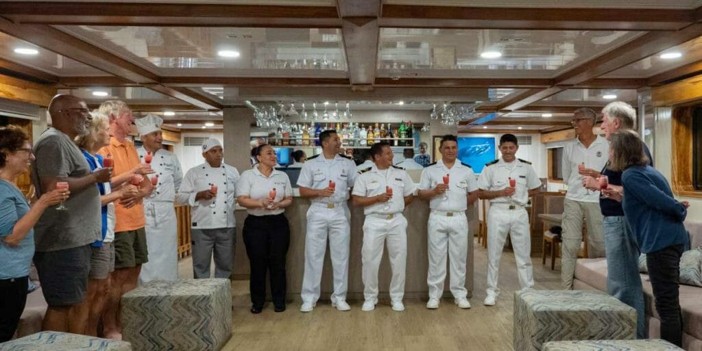 Galaxy yacht Galapagos cruise - meet the crew