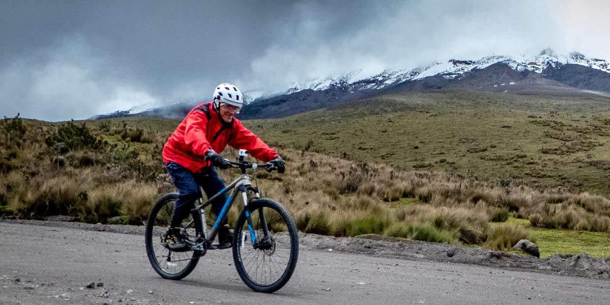Above The Clouds: Mountain Biking Down Cotopaxi Volcano, Ecuador