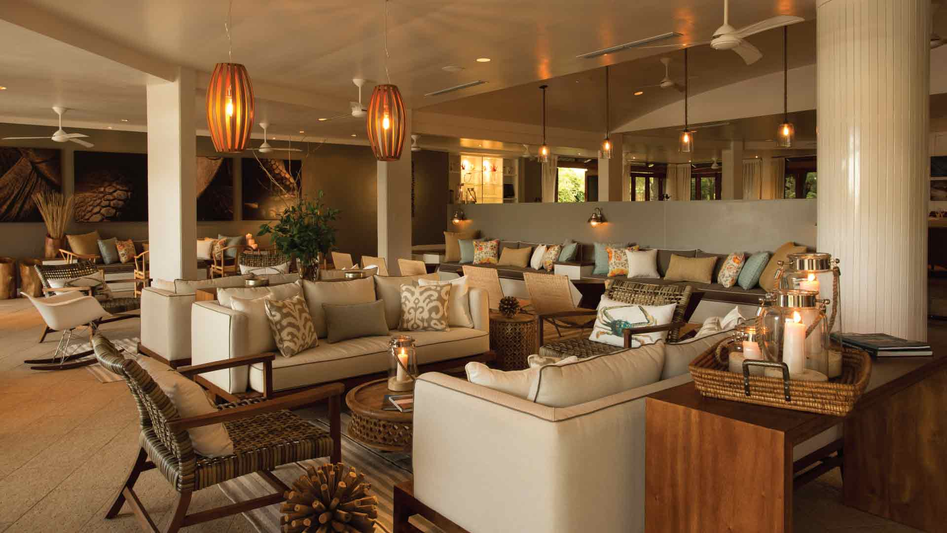 finch bay hotel galapagos - social guest lounge