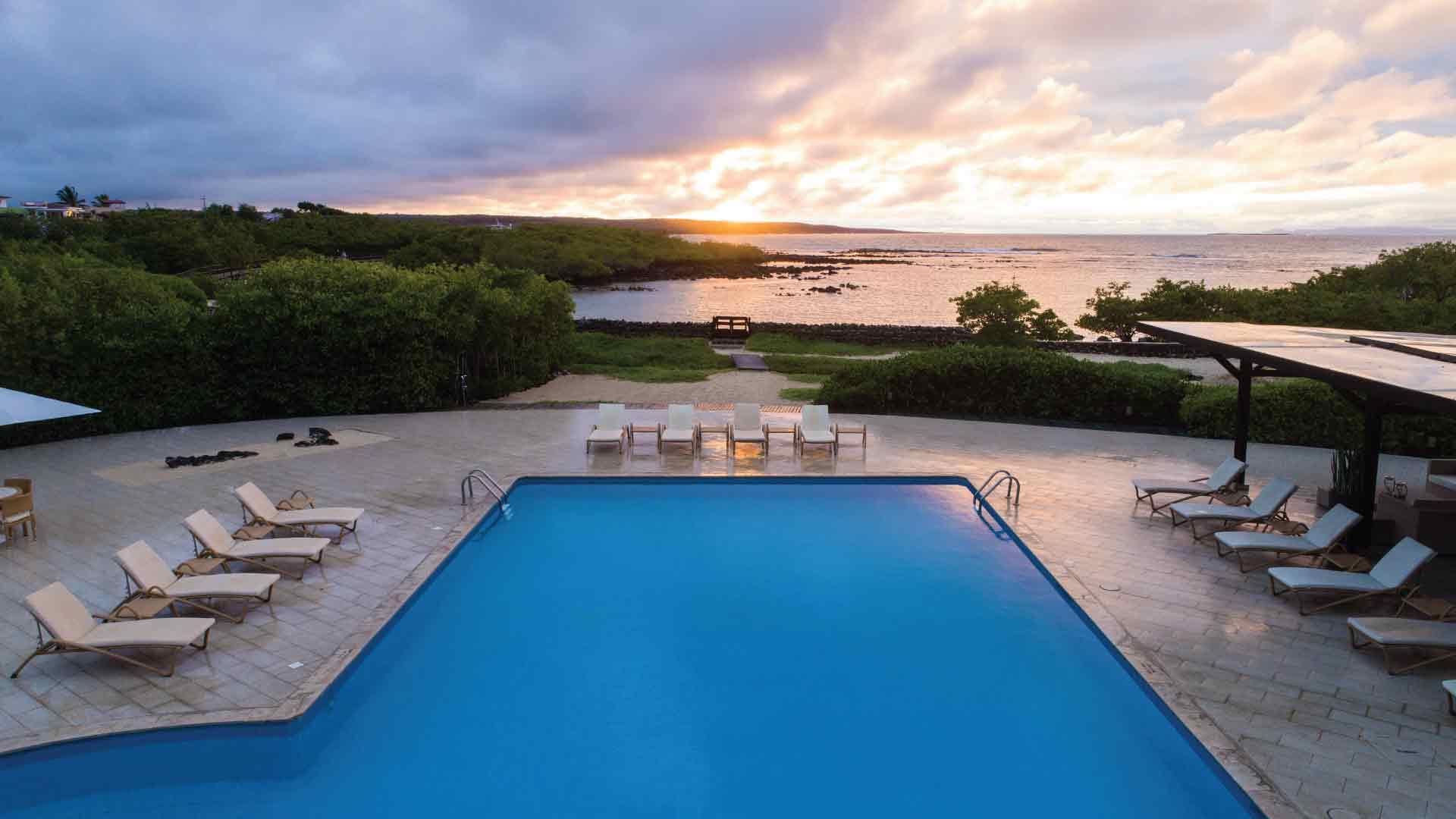 finch bay hotel galapagos swimming pool