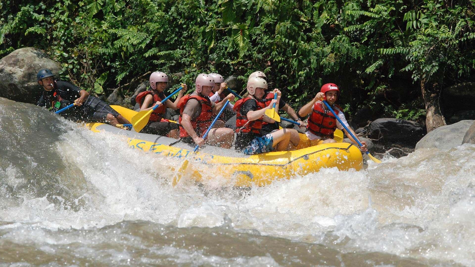 river blanco ecuador rafting tour
