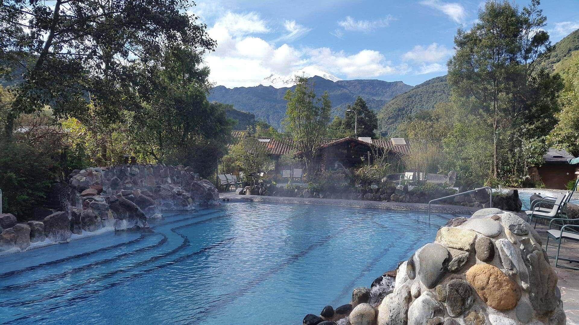 papallacta hot springs pool