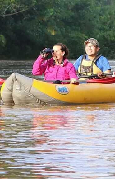 Deep amazon kayaking