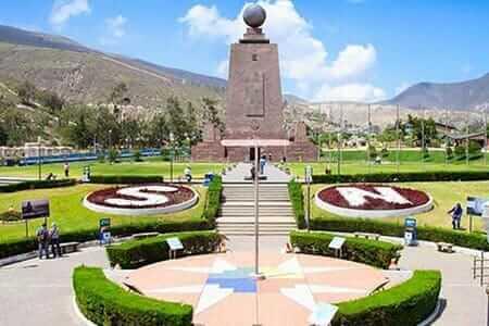 middle of the world equator monument quito ecuador