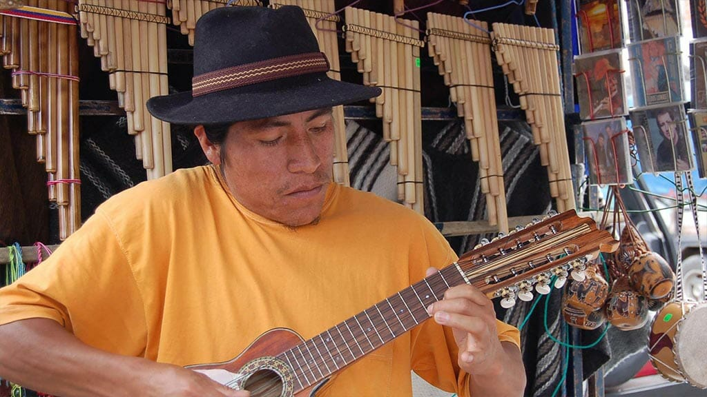 indigenous musical instrument workshop otavalo ecuador