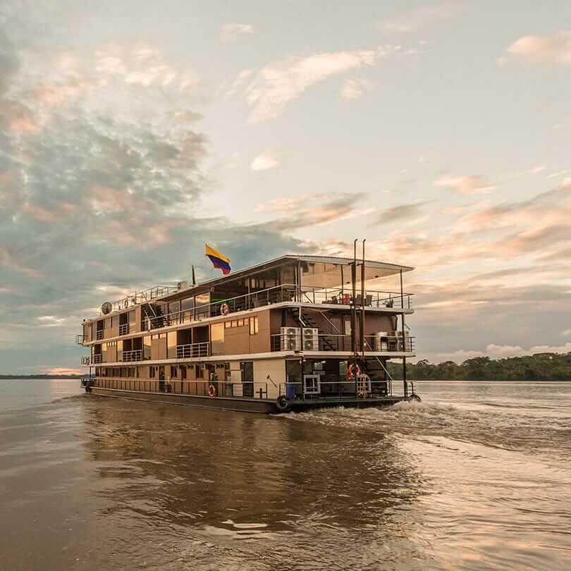 Manate Explorer Cruise in the amazon rainforest Ecuador