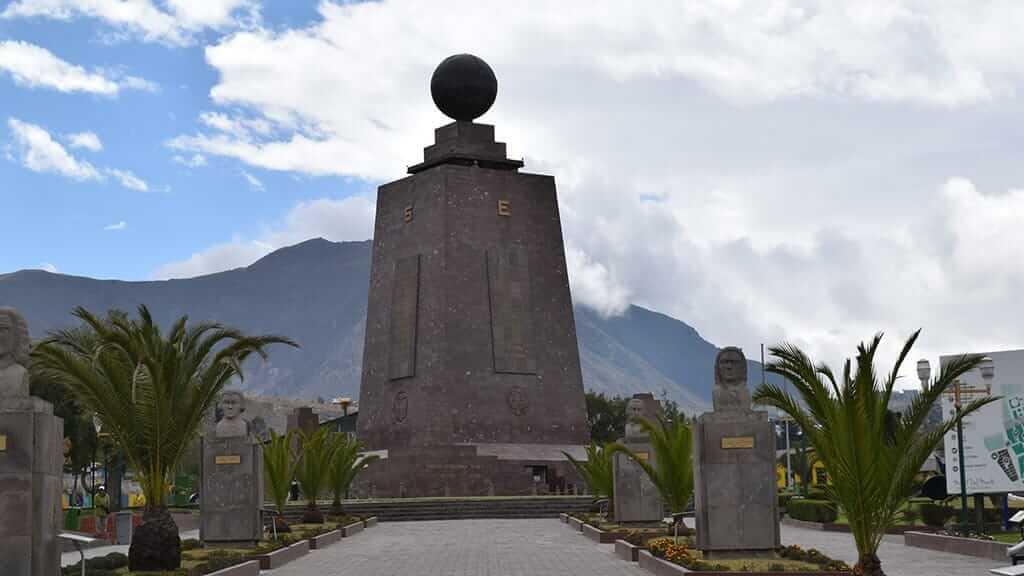 Mitad del mundo equator monument - Ecuador
