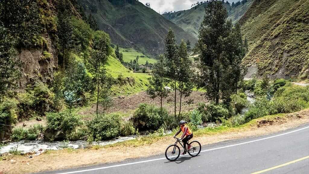 ecuador mountain biking tours