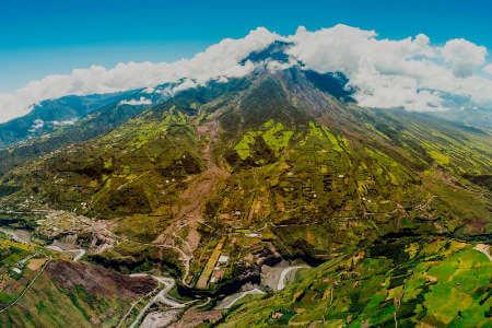 stunning tapestry of fields ecuador