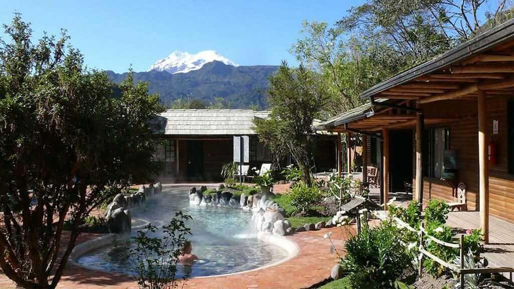 papallacta hot springs pool and cabins