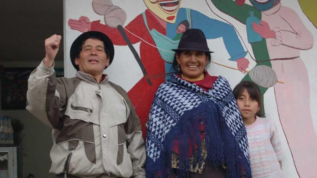 tigua art workshop ecuador