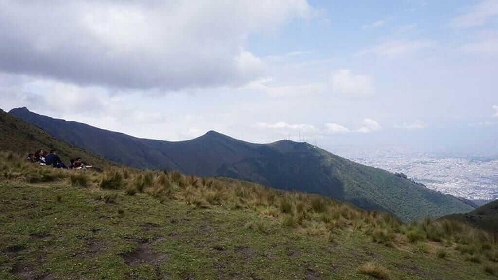 views from pichincha volcano quito
