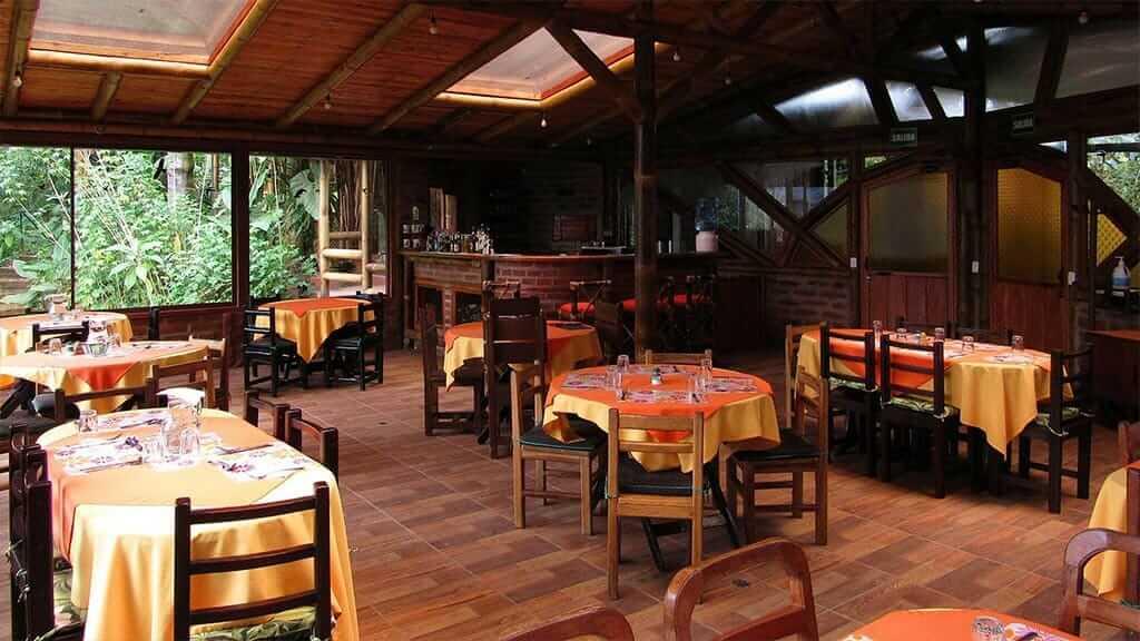 bellavista lodge restaurant ecuador