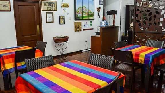 hotel el escalon guayaquil ecuador - indoor breakfast area
