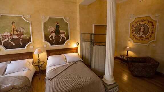 boutique hotel manor quito ecuador - twin room