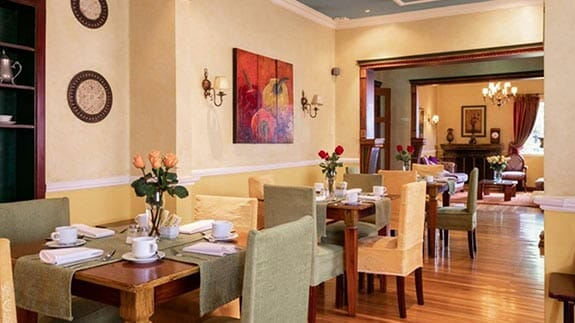 breakfast is served at hotel casa aliso restaurant