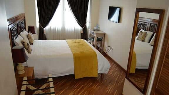 hotel casa joaquin quito city - double bedroom