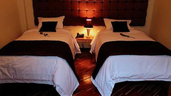 hotel casa joaquin quito city - twin bedroom
