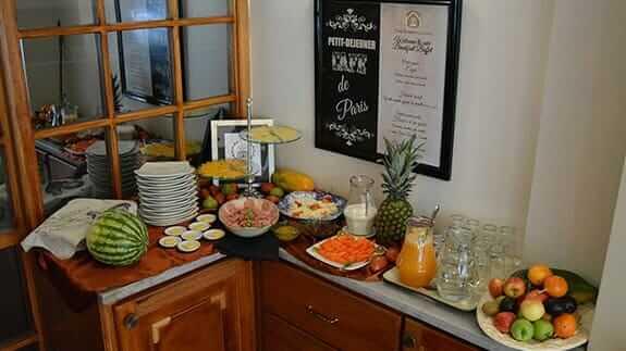 hotel casa joaquin breakfast buffet