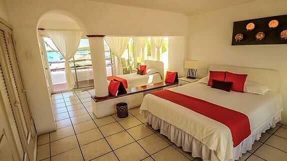 family room at Hotel Casa Opuntia, baquerizo moreno, san cristobal island