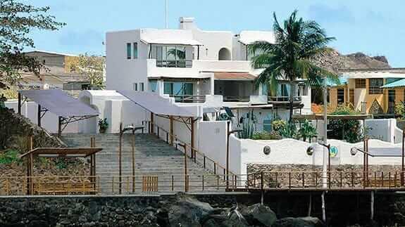 Hotel Casa Opuntia, San Cristobal, Galapagos – hotel facade
