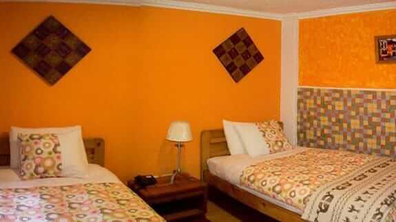 hotel casa sol quito ecuador - twin guest room