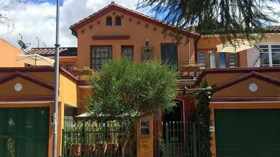 facade of casa sol hotel quito ecuador