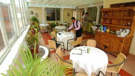 city art hotel silberstein breakfast restaurant quito ecuador