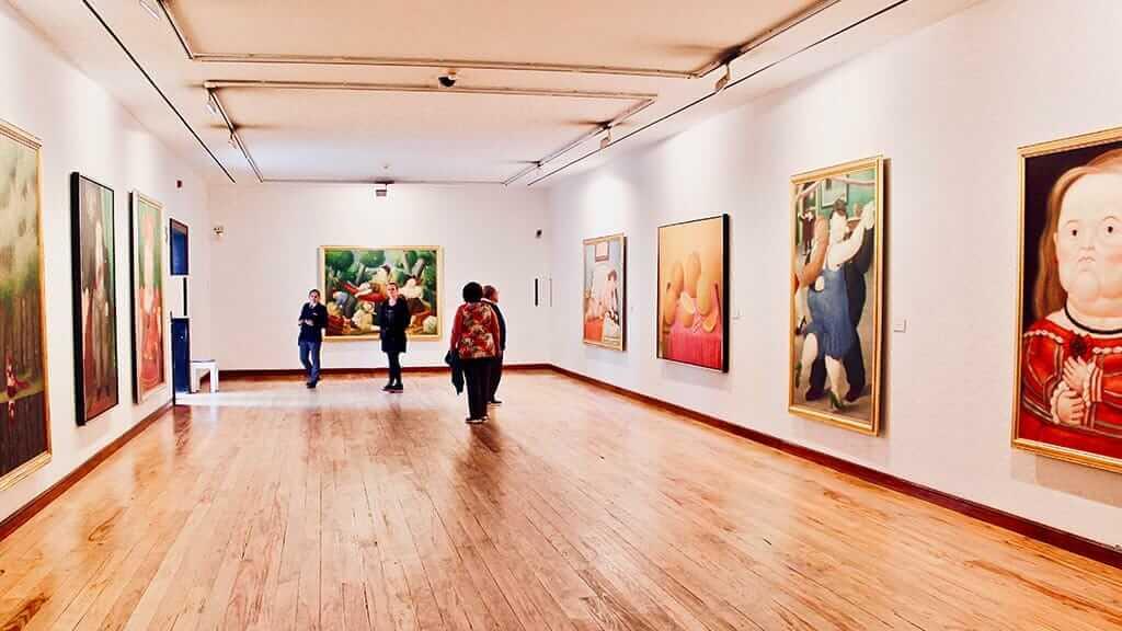 medellin botero art gallery museum in colombiq