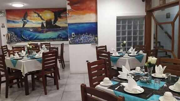 breakfast restaurant hotel deja vu galapagos islands