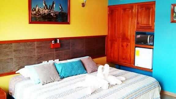 double bedroom galapagos eco friendly hotel at san cristobal galapagos