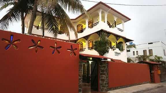main entrance of Hotel Galapagos Suites, Puerto Ayora, Santa Cruz