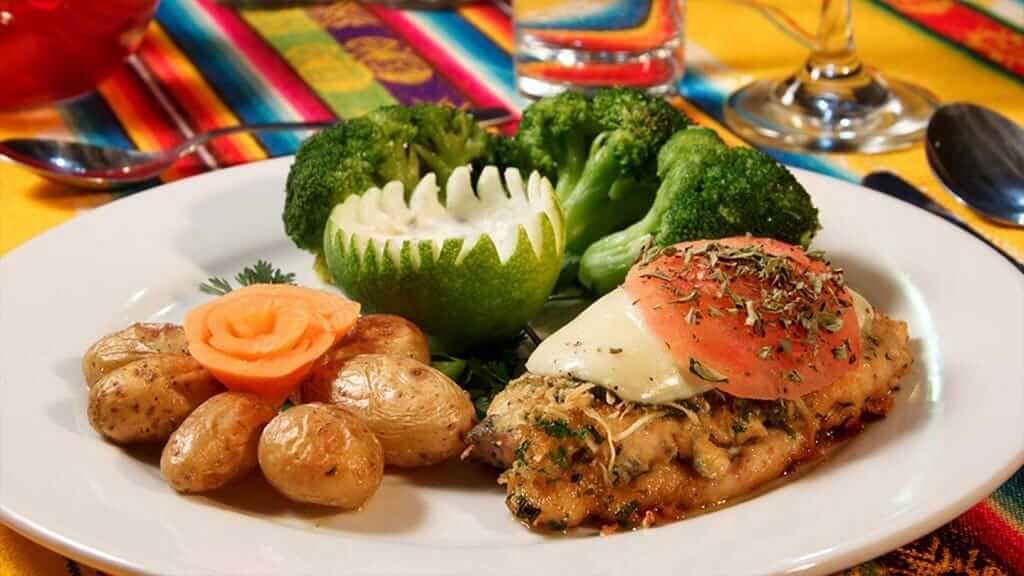 healthy food at guango lodge restaurant