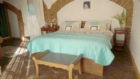 hacienda la jimenita hotel - large double room