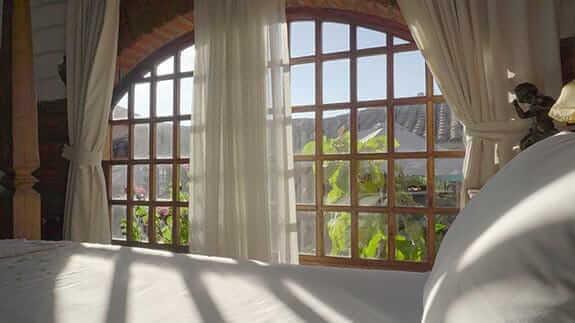 room with a view at hacienda la jimenita hotel close to quito airport