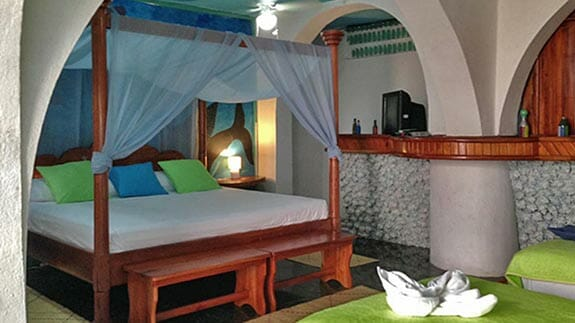 large cuadruple room at Hotel Casa Blanca, baquerizo moreno Galapagos islands