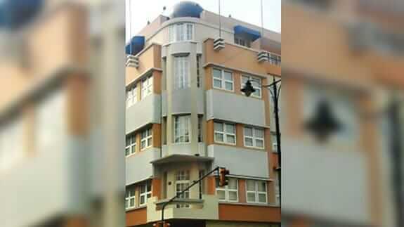 hotel city plaza facade in guayaquil ecuador