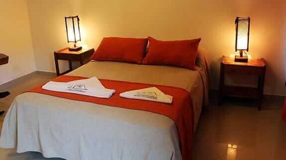 double bedroom at hotel fernandina puerto ayora sant cruz island galapagos