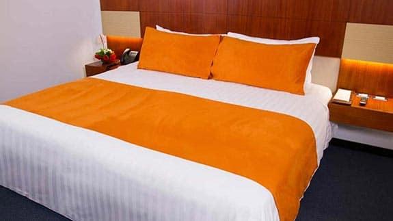hotel finlandia quito - double bed room