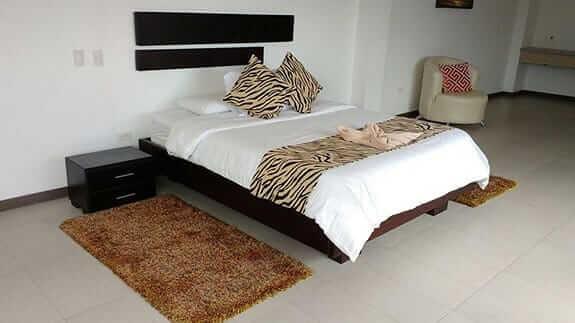 double guest room at hotel miconia baquerizo moreno