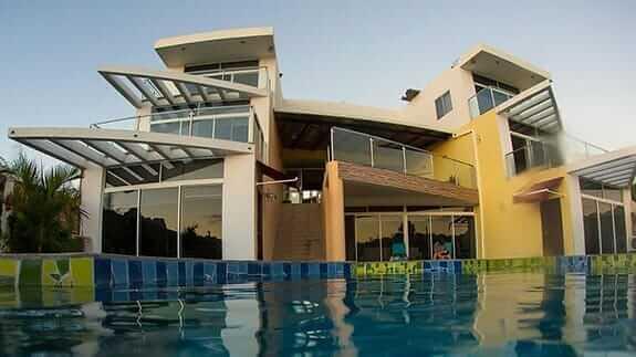 swimming pool at hotel miconia baquerizo moreno san cristobal galapagos