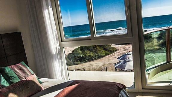 Iguana Crossing Hotel, Puerto Villamil, Isabela, Galapagos - double room with beach view