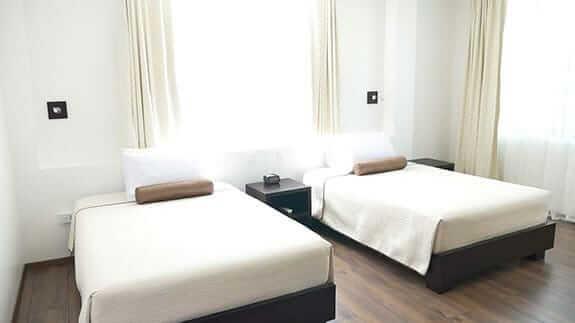 hotel ikala puerto ayora galapagos - twin bedroom