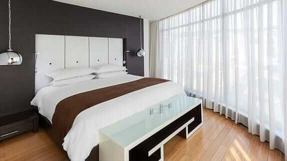 hotel le parc quito - double bedroom
