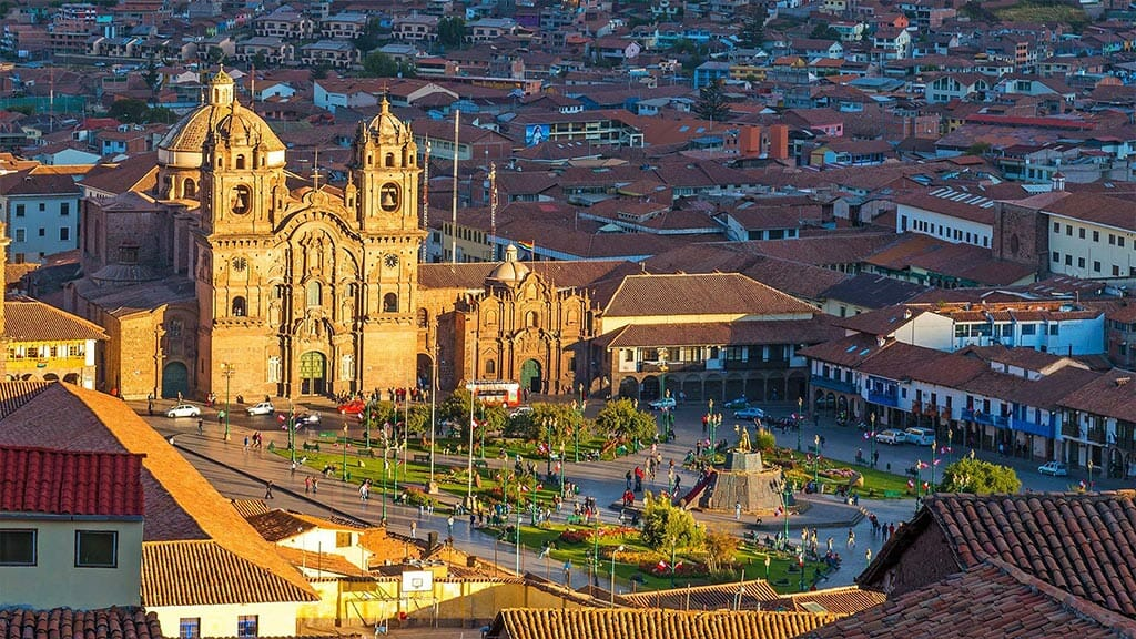 Cusco Central Plaza and Cathedral, Peru