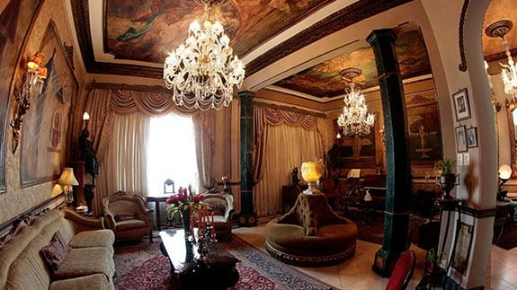 social lounge salon mansion del rio hotel guayaquil