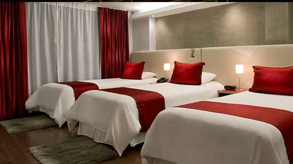 nu house hotel quito - triple room