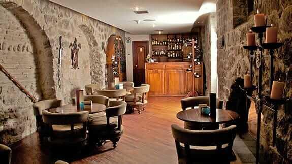 cavern bar at hotel patio andaluz quito