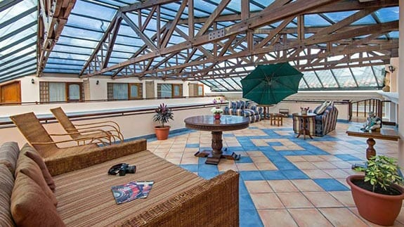 roof top terrace hotel patio andaluz quito