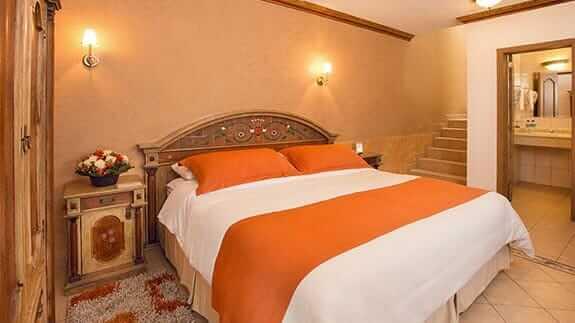 double room at rincon de puembo hotel quito airport